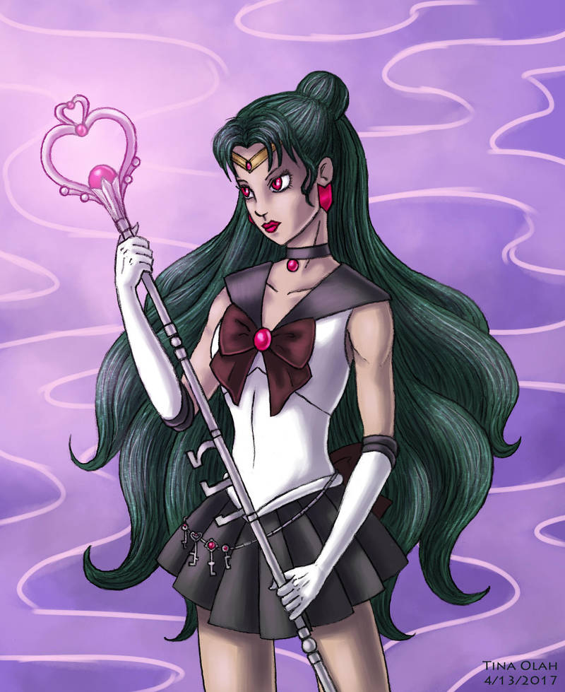 Sailor Pluto by Kittensoft