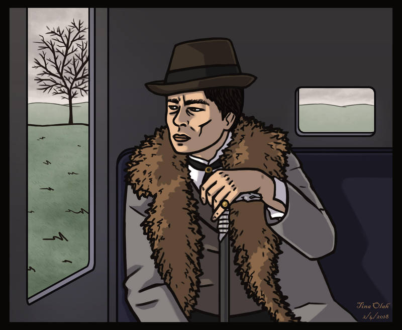 Benicio del Toro - Lawrence Talbot by Kittensoft