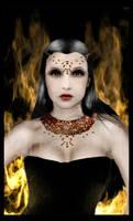 Calina: Dark Goddess by Kittensoft