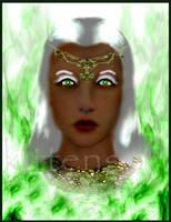Goddess Trillodine by Kittensoft