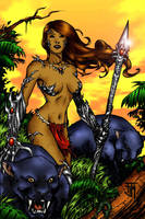 Jungle Witchblade by Kittensoft