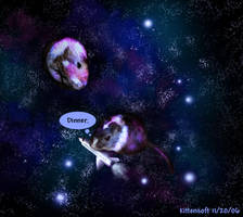 Gerbils In Space by Kittensoft