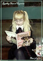 Reading Time at Hogwarts by Kittensoft