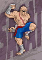 Sagat by SuperEdco