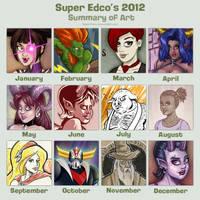 2012 Art Summary by SuperEdco