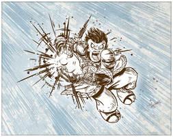 Monkey King Hadoken! by SuperEdco