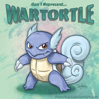 Wartortle by SuperEdco