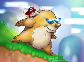 Mario's Blacklist - Mega Mole! by SuperEdco