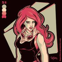 Mara Jade by SuperEdco