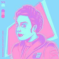 Princess Leia on Hoth by SuperEdco
