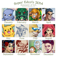 2014 Art  Summary  Meme by SuperEdco