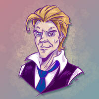 Bowie, as the Sovereign by SuperEdco