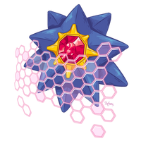 STARMIE used LIGHT SCREEN! by SuperEdco