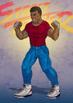 Mike - Street Fighter by SuperEdco