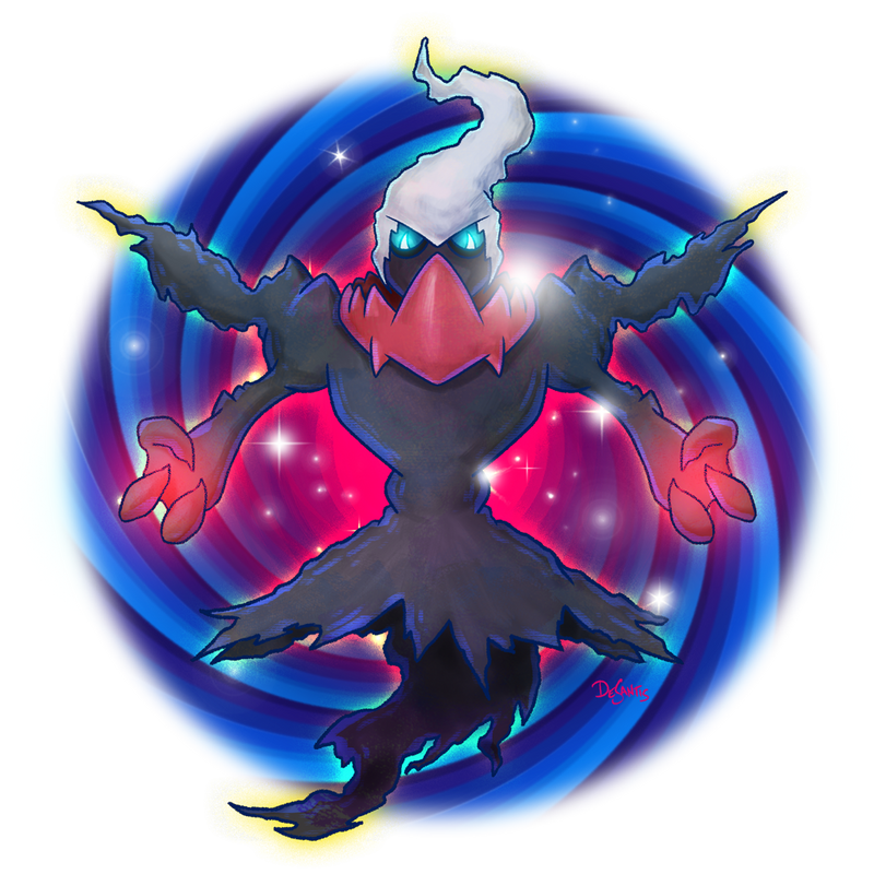 DARKRAI used DARK VOID by SuperEdco