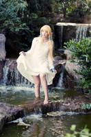 Zelda: Waterfall by princess-soffel