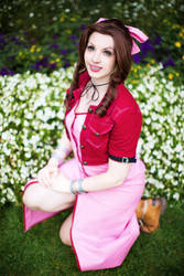 Final Fantasy VII Aerith Gainsborough: 23 wishes by princess-soffel