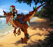 Visit Scenic Echo Isles by aureath