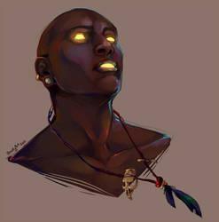 Exalius Portrait by aureath