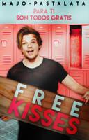 Free Kisses / Wattpad Cover by neaekis