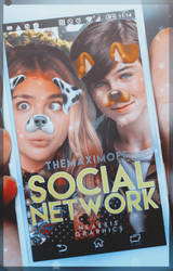 Social Network / WATTPAD COVER by neaekis