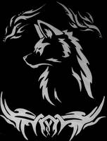 Wolf Tattoo Thingy by Shapko47
