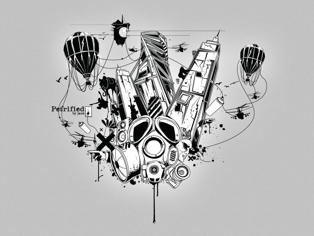petrified - vector by JaxeNL