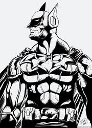 Batman New Costume by pauldesu