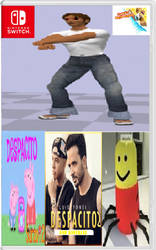 Despacito 2 leaked box art by genericstickman
