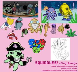 Squiddle Album Contributions by randomartist