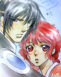 MKR Hikaru and Latis by Sagita-D