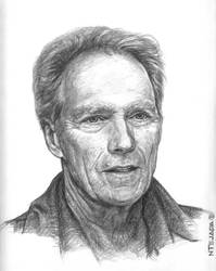 Clint Eastwood by gutgemacht