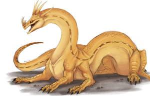 HTTYD - Fireworm Queen by Jakiron