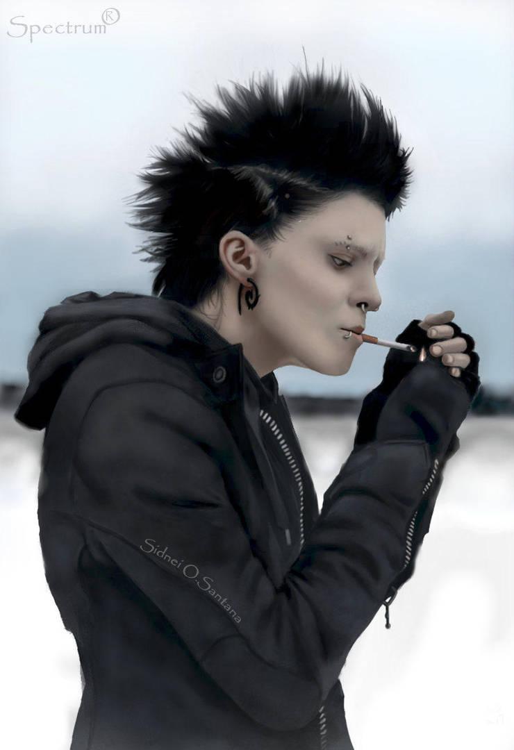 Cyber Punk Lisbeth Salander by ilProfane
