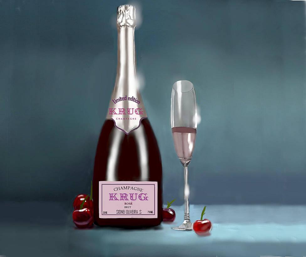 Champagne Krug Rose Extra Brut by ilProfane