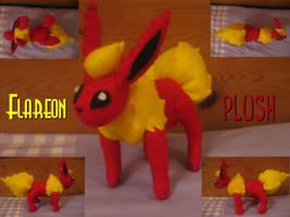 Flareon Plush by fluffylovey