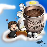 Costas Coffee Remastered by DavidUnwin