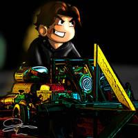 SAW 3D Kart Trap chibi by DavidUnwin