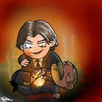 Roasting On A Erickson fire by DavidUnwin