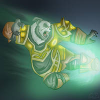 Pandaren by DavidUnwin
