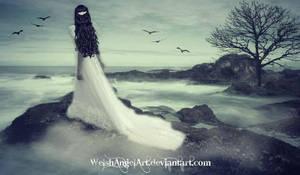 *lost in her memories* by DaisyAmethystArt