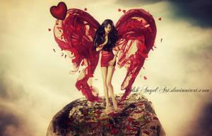 *angel of love* by DaisyAmethystArt