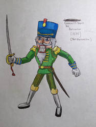 General Filbert (Leader of Fort Nutcracker) by BozzerKazooers