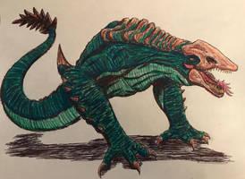 Ramarak (Skull Devil Crawler) (Legendary Style) by BozzerKazooers