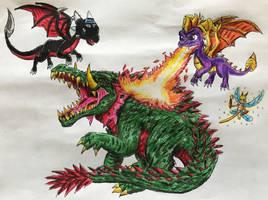 Big Beast Battle by BozzerKazooers