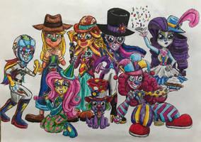 EG Movie Poster 4: Clowns by BozzerKazooers