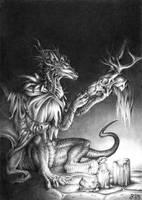Preparation for Samhain by Ridira