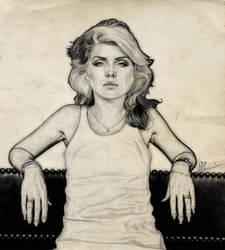 debbie harry_love blondie by scarecrowbarr