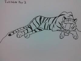 Inktober Day 2 by wild-d0g
