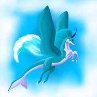 Unicorn of Water by little-Jewel